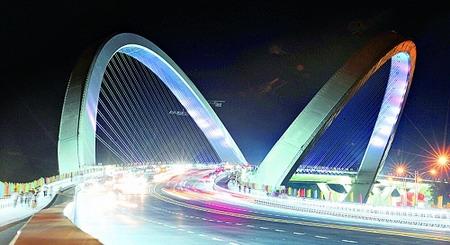 南宁旅行社南宁旅游景点推介:南宁大桥
