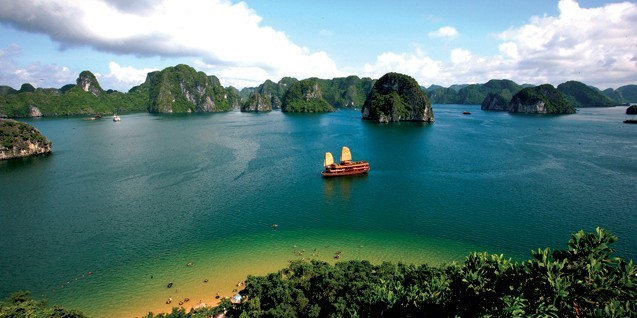 广西南宁旅行社旅游美景:越南下龙湾图片